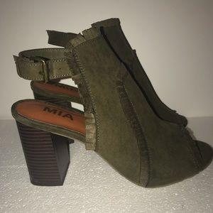 MIA Shoes - Olive green MIA Boca